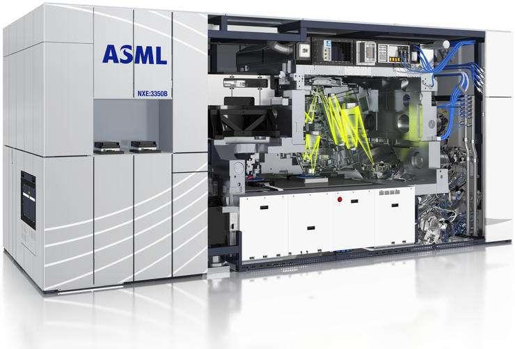 2019年ASML光刻机出货26台 3纳米设备产品或2021年问世